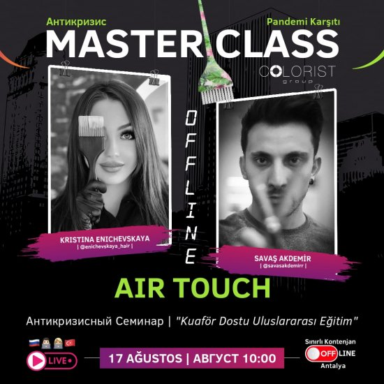 Pandemi Karşıtı Master Class Aır Touch