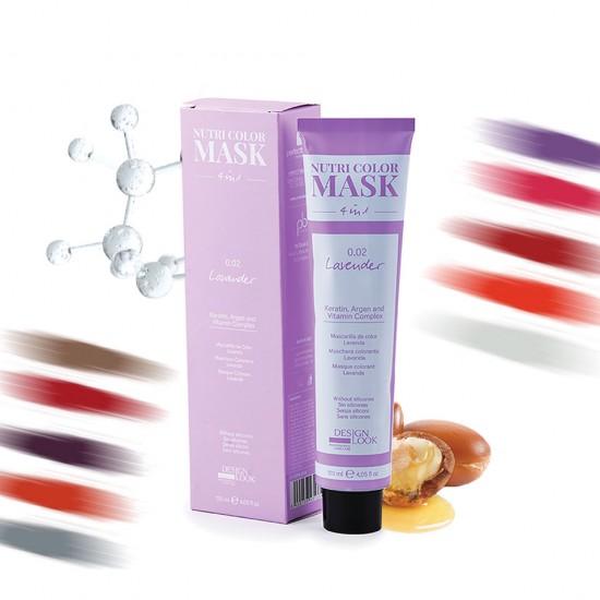 Designlook 4in1 Renk Canlandırma Maske 120 ML