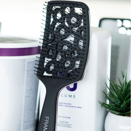 FRAMAR Ergonomik Fön Saç Fırçası