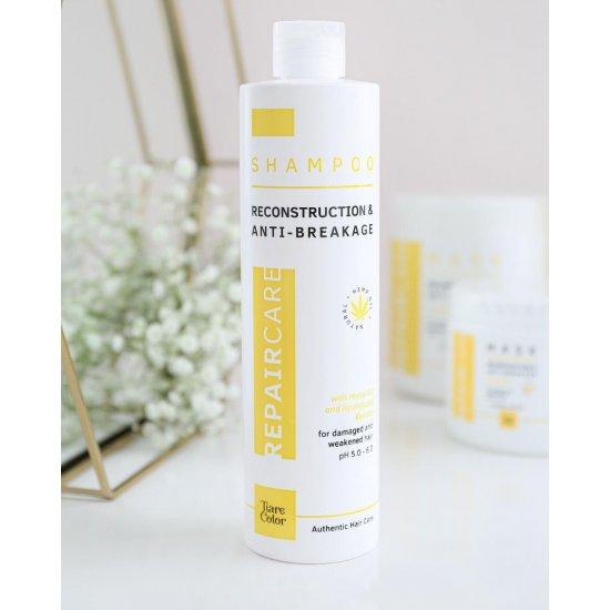 Tiarecolor Kuru Ve Yıpranmış Saçlar İçin Onarıcı Şampuan 500 ML