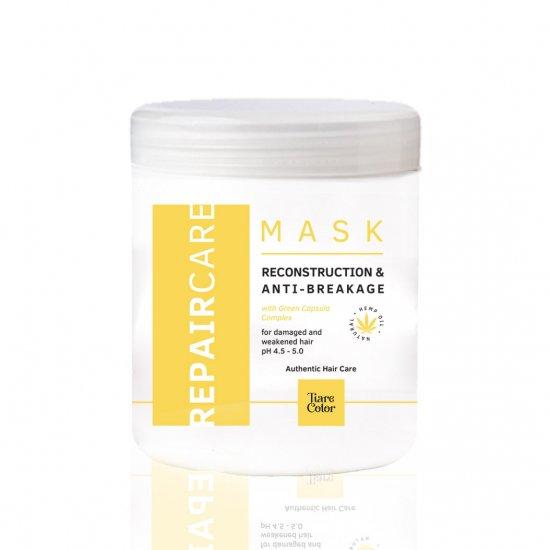 Tiarecolor Kuru Yıpranmış Saçlar İçin Onarıcı Maske 1000 ML