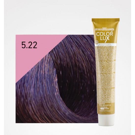 Color Lux 5.22 Light Chestnut Intense Violet
