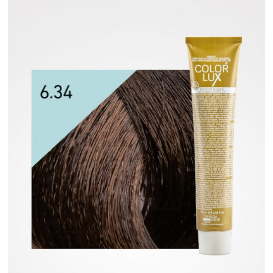 Color Lux 6.34 Dark Blonde Golden Copper
