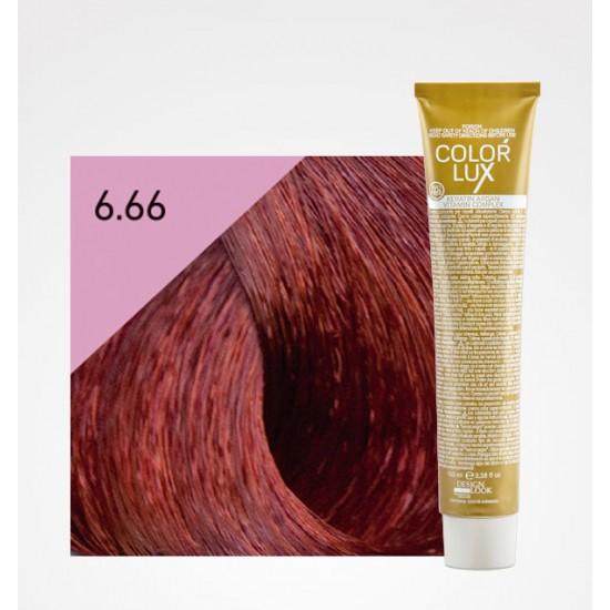 Color Lux 6.66 Dark Blonde Intense Red