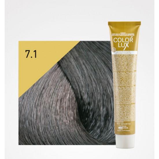 Color Lux 7.1 Medium Blonde Ash