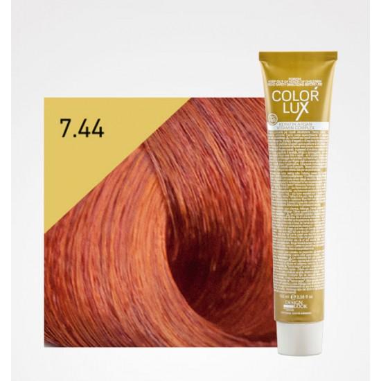 Color Lux 7.44 Medium Blonde Intense Copper