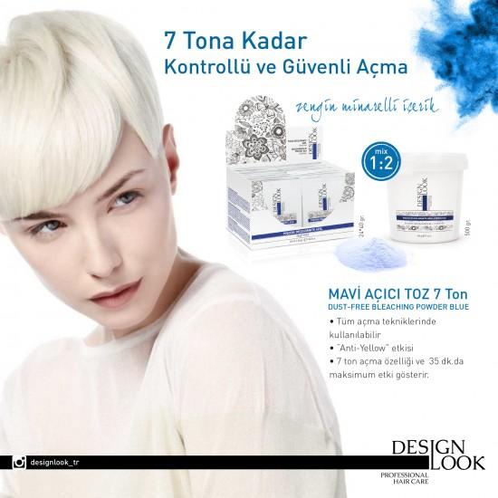 Designlook Bleach Powder 7Deco Blue Antiyellow 500 GR