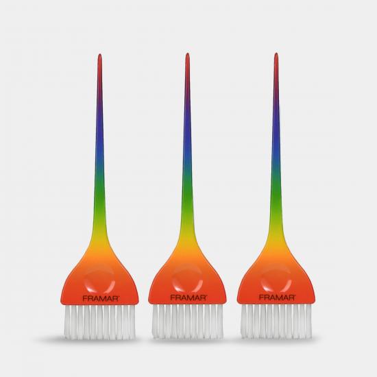 Framar All Yall Brush Set/ 3Lü Gökkuşağı Renkli Set (Sınırlı Üretim)