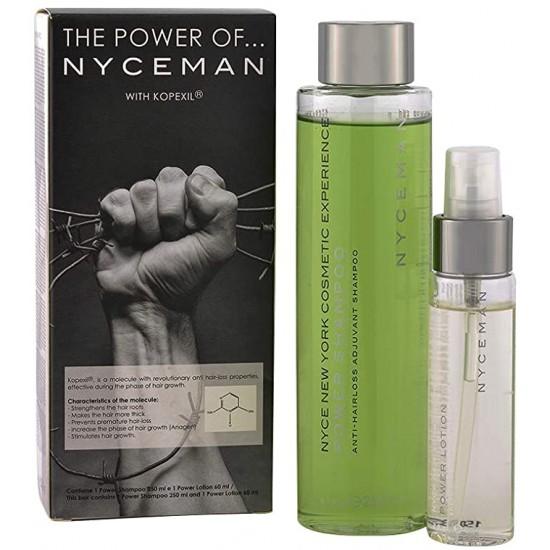 Nyce Power Set: Power Shampoo 250 ML + Power Lotıon 60 ML/ Saç Güçlendirme Erkek Seti
