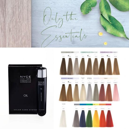 Nyce E.C.O. Color Oil Amonyaksız Kalıcı Yağ Boya Renk Kataloğu