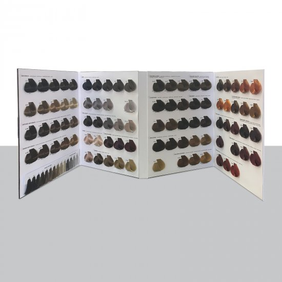 Tiarecolor Big Color Chart 110 Shades + 19 New Shades