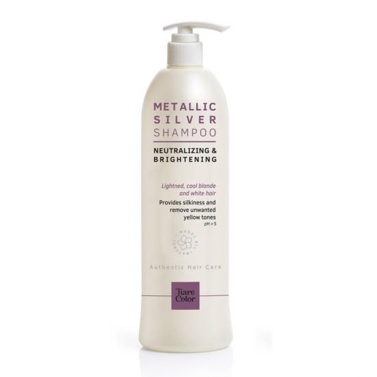Tiarecolor Dore Nötralize Metalik Silver Saç Şampuan 1000 ML