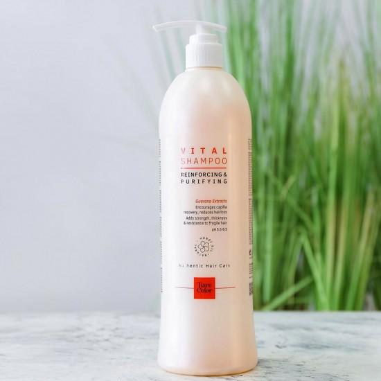 Tiarecolor Vital Zayıf, Dökülen Saçlar için Güçlendirici Şampuan 1000 ML